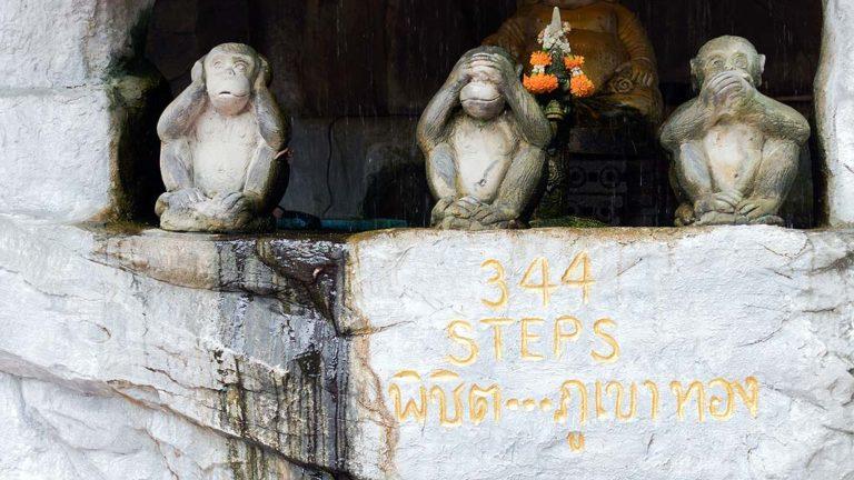 Golden Mountain Temple, Bangkok, Thailand