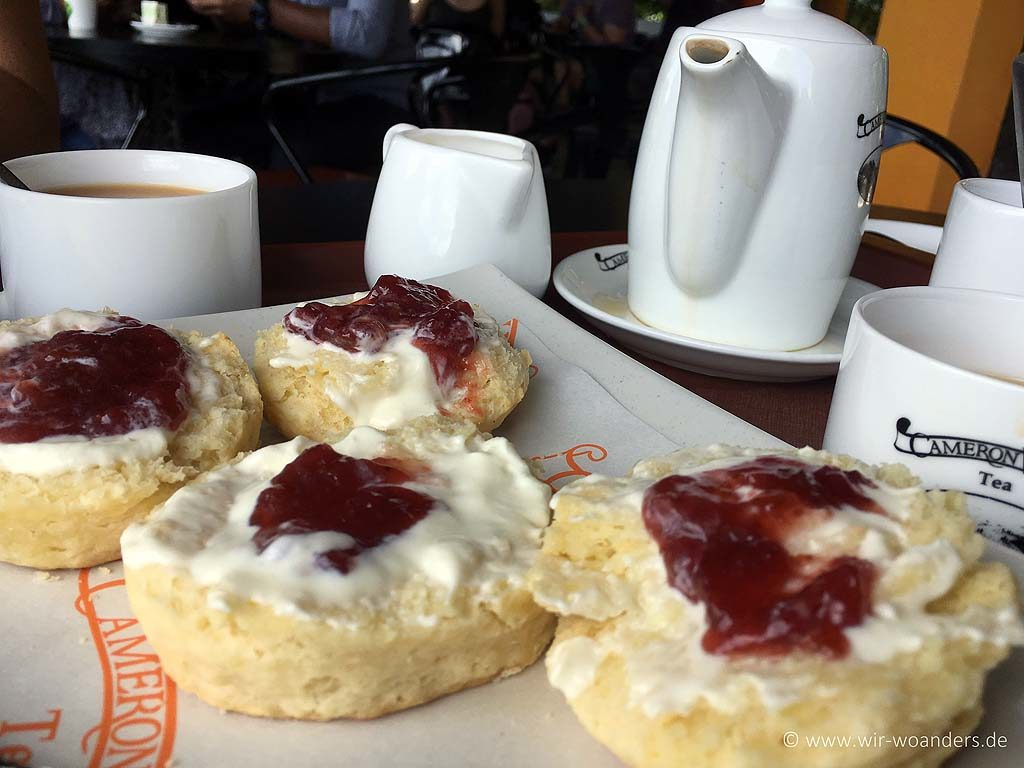 scones and tea at teahouse cameron highlands