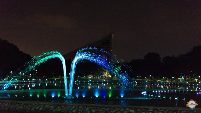 musical fountain @ Kota Kinabalu, Sabah - Borneo