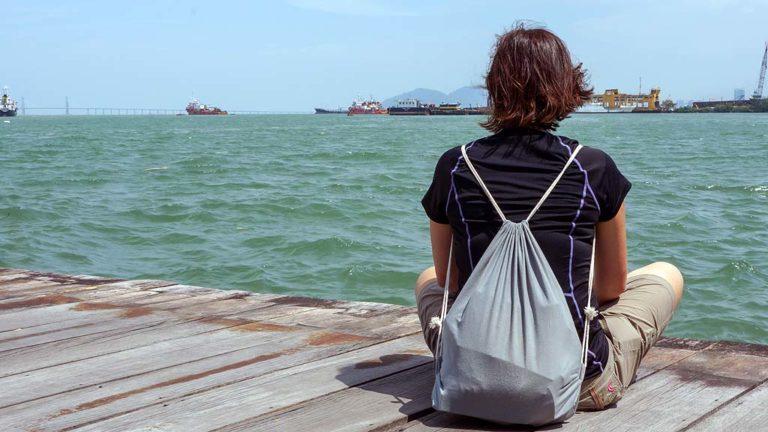 enjoy the sea @ Penang, Malaysia