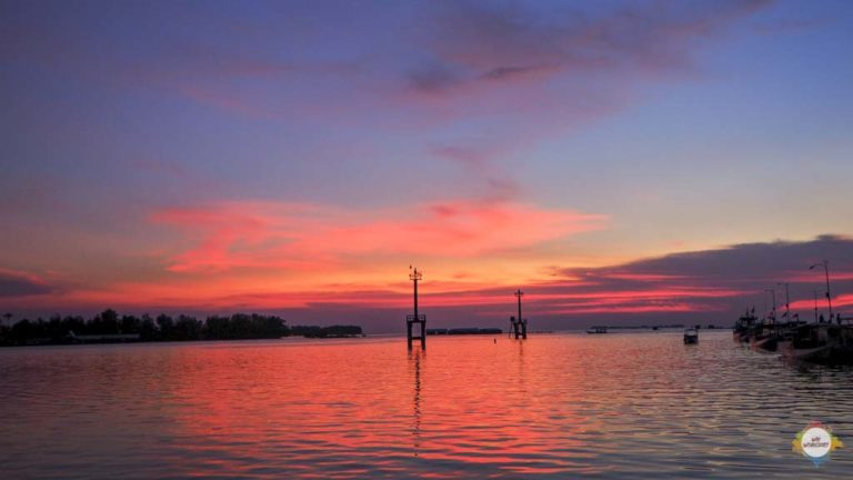 Sunset @ Karimunjawa Harbour