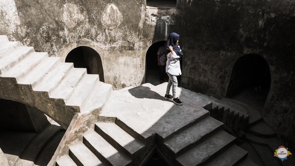 title underground mosque Yogyakarta