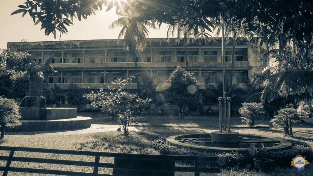 Innenhof S21 Gefängnis Phnom Penh