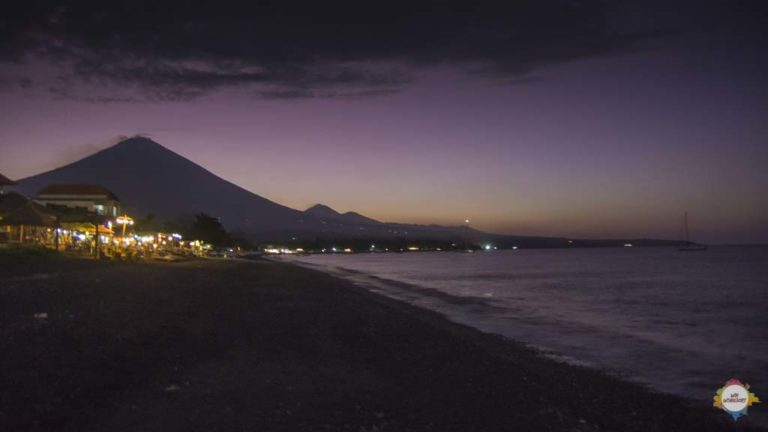 Amed with Agung, Bali