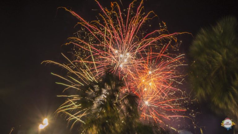 Fireworks @ Battambang, Cambodia