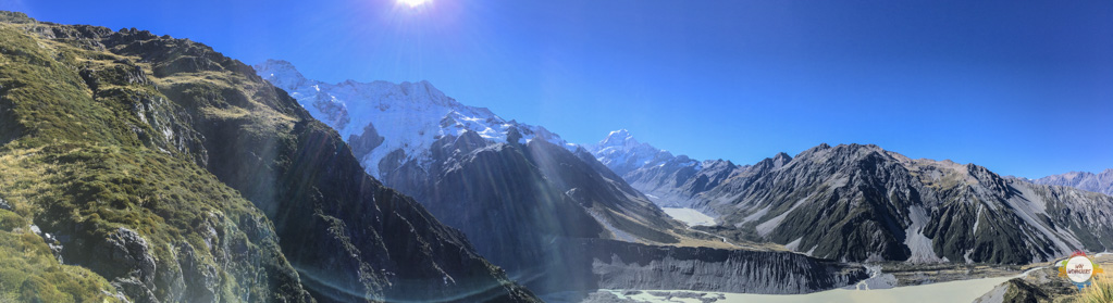 Panorama Mount Cook NP