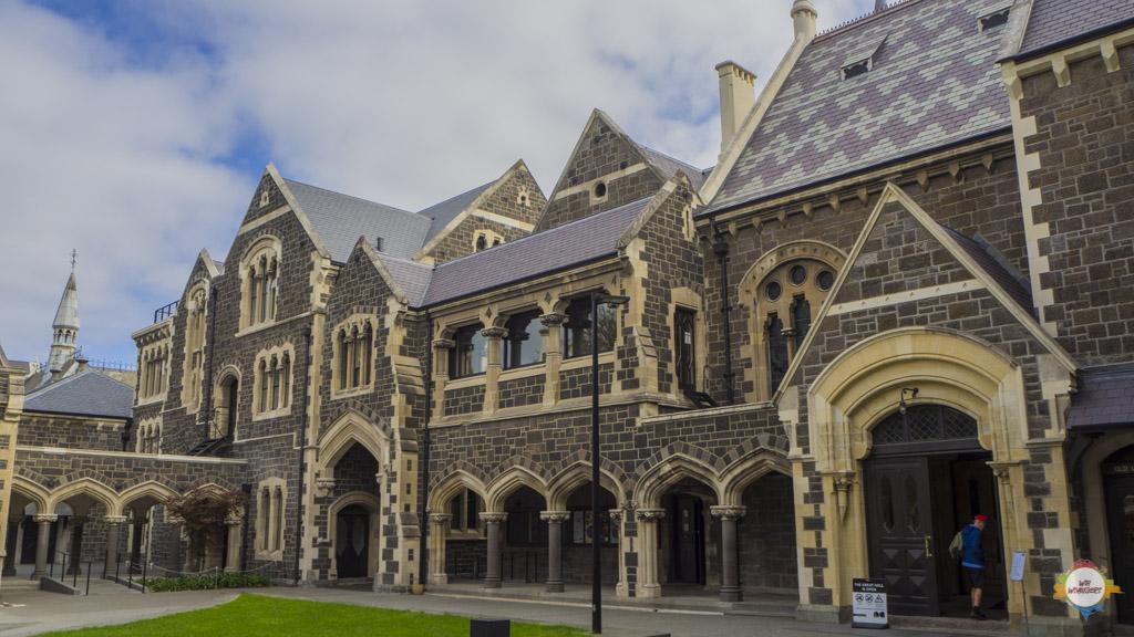 Christchurch Start Neuseeland