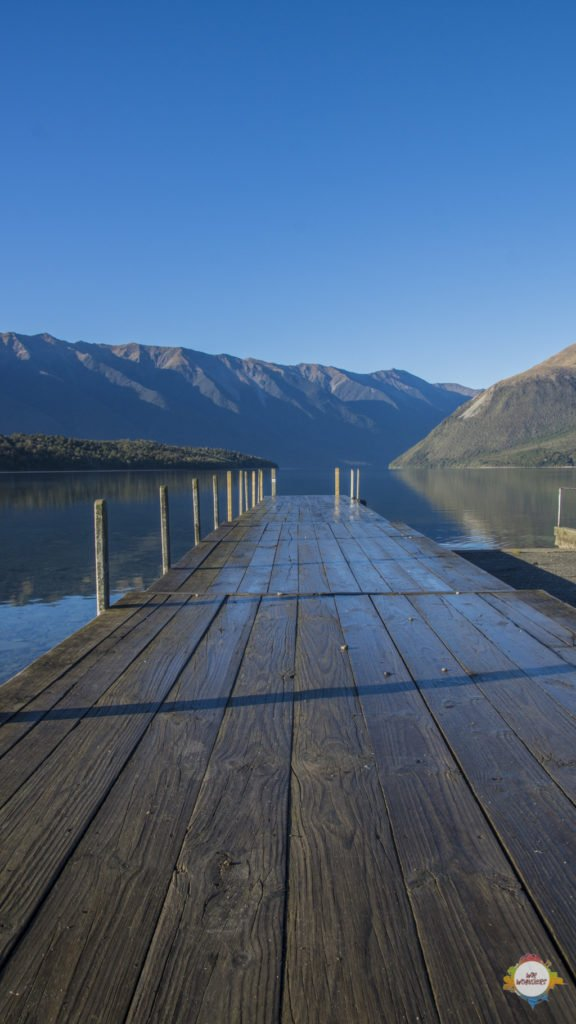 jetty at Lake Rotoiti
