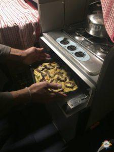 Küche mit AUflauf