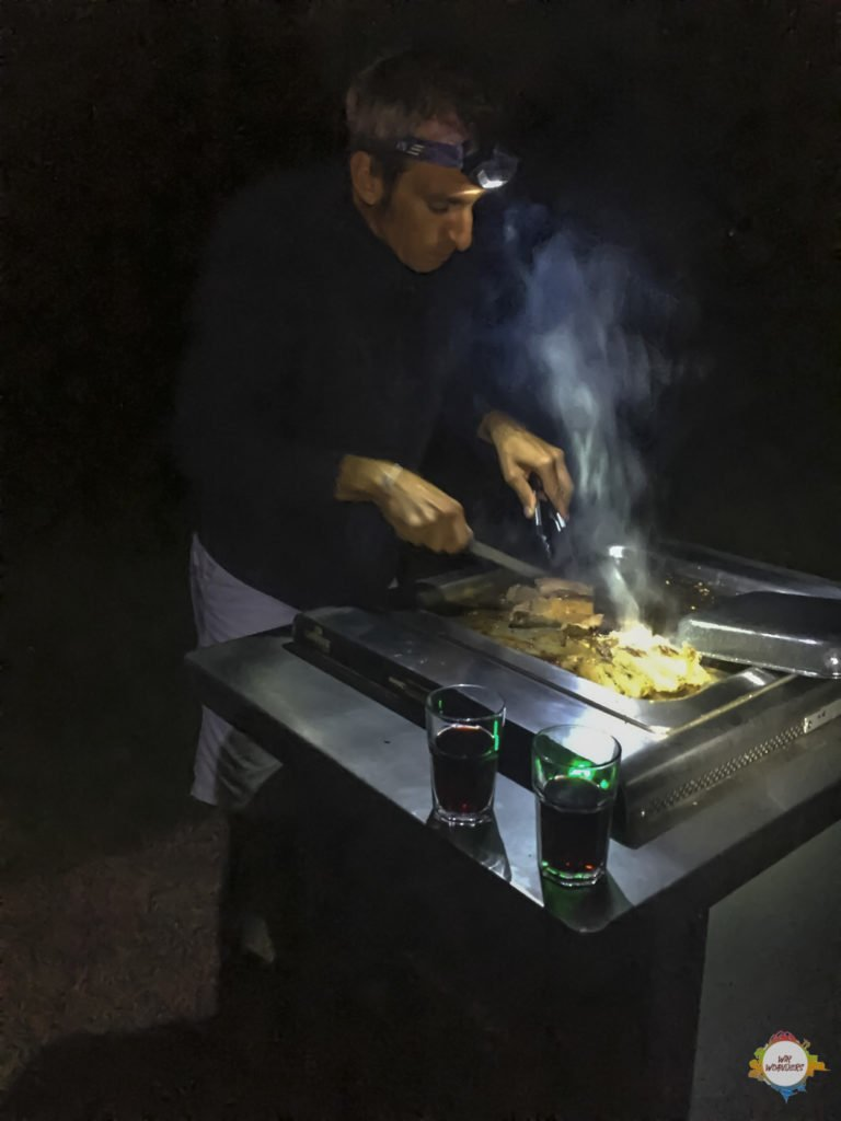 moonlight bbq at wenderholm reserve northland