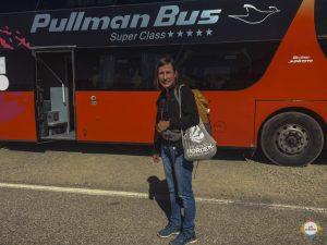 Pullmann Bus nach Chile