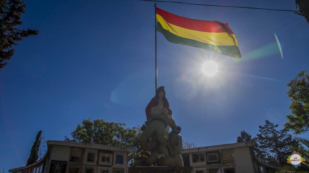 Bolivien Fazit Flagge