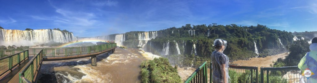 Übersicht der Cataratas do Iguazú
