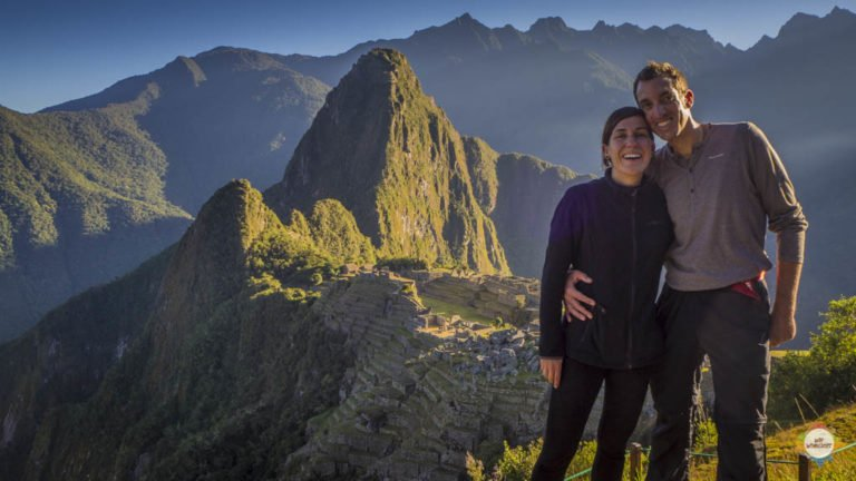 Machu Pichu und wir