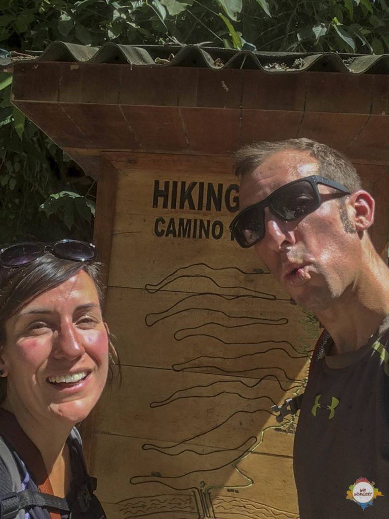 Hiking Trail Machu Picchu