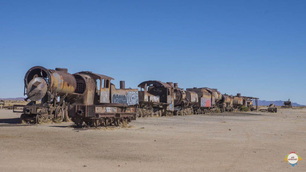 cemeterio de trenes uyuni