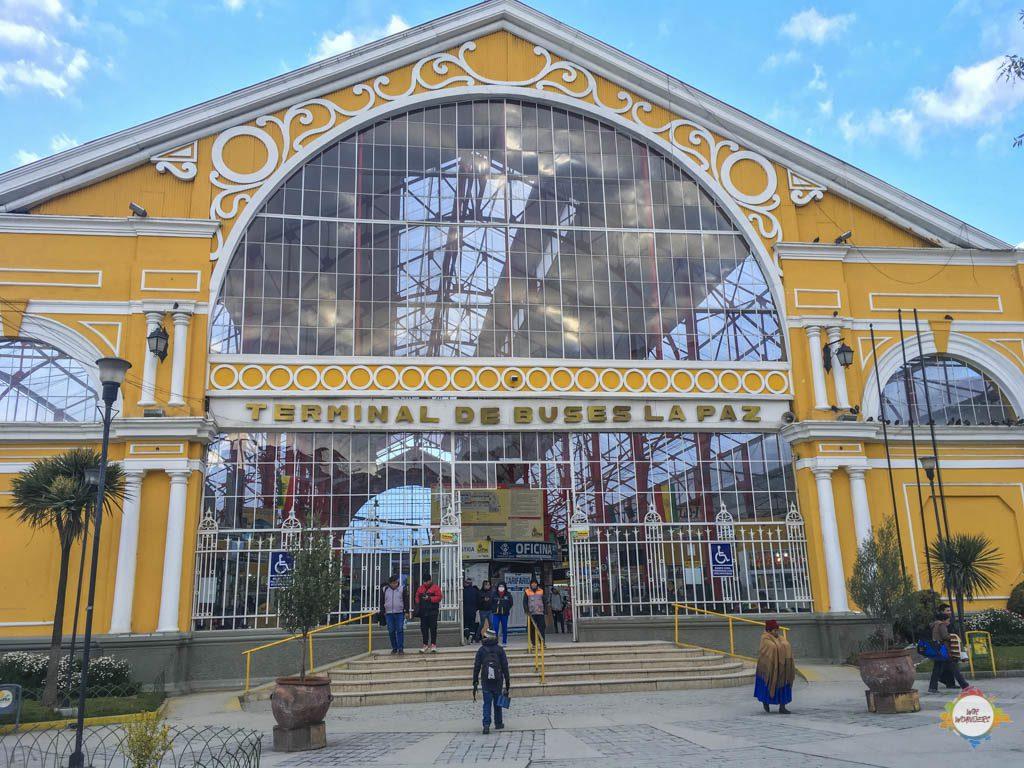 Terminal de Buses, La Paz