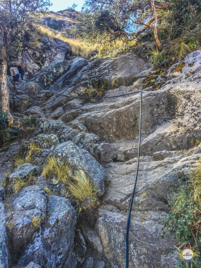 Bouldern am Churup Huaraz