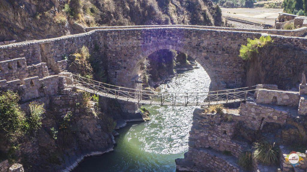 Palccoyo Inka Brücke