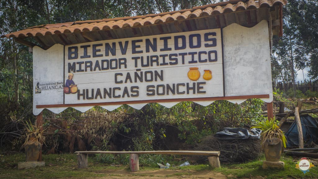 Huancas Cañón del Sonche